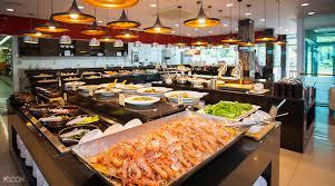 cuisine a la บ ฟเฟ ต อาหารทะเลท ภ ตตาคารแชงกร ลา shangri la เกาะเชจ