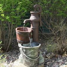 homemade outdoor water fountain ideas outdoor classics pump with