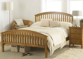 hyder torino solid oak bed frame 5ft kingsize solid wooden bed