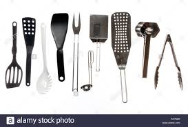 Kitchen Types by Various Types Of Kitchen Tools Cooking Devices Stock Photo