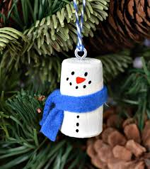 diy wine cork snowman christmas tree ornaments
