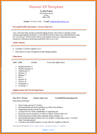 Clean Resume Template Cleaner Resume Template Resume Tips For Residential House Cleaner