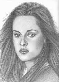 best pencil sketches of women pretty girls black hair and drawings
