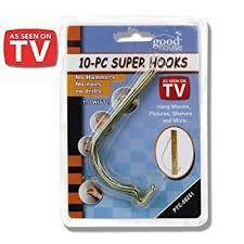 hang pictures without nails 10pc super hooks hang pictures without hammer nails or drilling