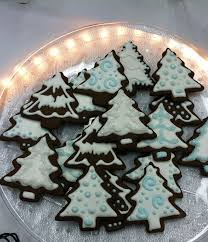 Recipe Decorated Cookies 195 Best Tree Cookies Images On Pinterest Decorated Cookies