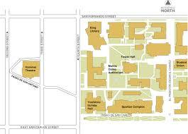 main campus map san jose state university