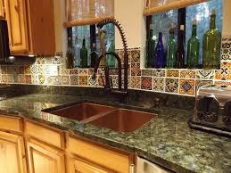 kitchen backsplash mexican ceramic tile mexican backsplash hand