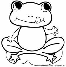 Coloring Pages Exquisite Frog Of Pictures Frogs We Are All Frog Colouring Page