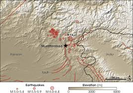 middle east earthquake zone map when the earth moved kashmir feature articles