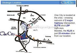 map usj 23 soho for sale at one city usj for rm 990 000 by crisliu