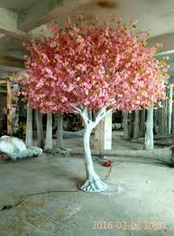 china 2016 china manufacture pink artificial cherry blossom tree