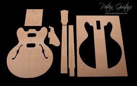 es 335 style guitar templates potvin guitars