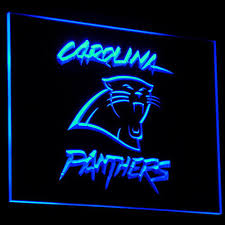 Carolina Panthers Flags 50 Off Limited Edition 3d Carolina Panthers Logo Neon Sign