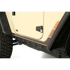 jeep body armor bumper rugged ridge 11651 11 rocker guard kit body armor 2 door 07 16
