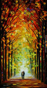 best painting leonid afremov altar of trees painting best paintings for sale