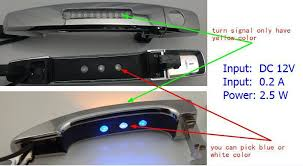 ford focus door handle parts exterior replacement parts for ford focus out side led door handle