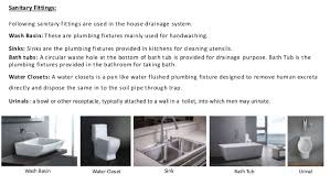 House Plumbing System Drainage System For A Building