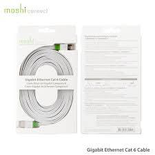 moshi low profile gigabit ethernet cat 6 cable 3 6m mac addict