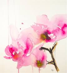original art for sale at ugallery com orchid study ii by karin