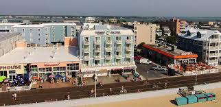 Ocean City Maryland Map Tidelands Caribbean Hotel U0026 Suites Ocean City Md