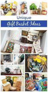 unique gift baskets unique gift basket ideas