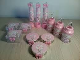 Conhecido kit personalizado chá de bebê menina 40p no Elo7   Atelie Breda  &CZ51
