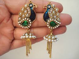gujarati earrings jhumka jhumki jewellery india