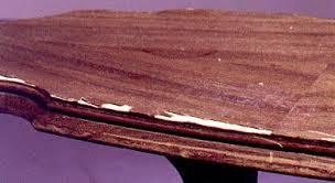 how to wood veneer furniture how to give veneer tops new