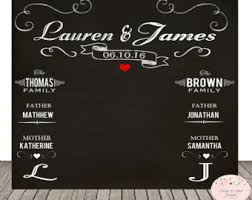 wedding backdrop sign string lights and jars wedding photo backdrop chalkboard