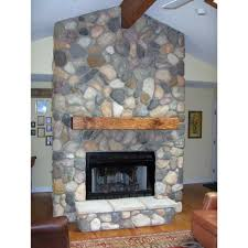 pine fireplace mantel and solid wood beam fireplace shelves