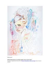 fashion illustration artist miss led shares her tips with you