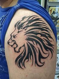 jersey tattoo leo the lion zodiac tattoo