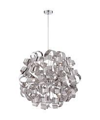 ribbon light quoizel rbn2831 ribbons 31 inch wide 12 light large pendant