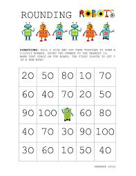 Rounding Worksheets 4th Grade Worksheet Rounding Games For 3rd Grade Laurelmacy Worksheets For