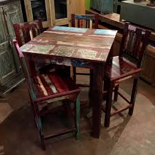 reclaimed wood pub table sets unique dining room furniture buffet cabinets farm tables live