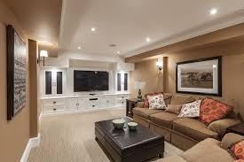 elegant sauder entertainment center in family room transitional