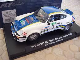 rally porsche fly porsche 911 sc rally el corte ingles 1982