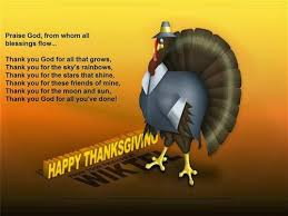 free thanksgiving day prayers dinner free quotes poems