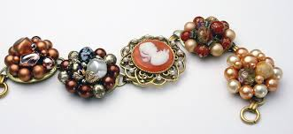 vintage jewelry bracelet images Using vintage jewelry to make a charm bracelet charms guide jpg