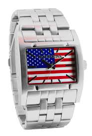 Flag Face Rockwell Time Apostle Wristwatch American Flag Face 45mm Ap Usa1
