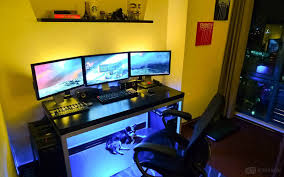 Gaming Station Computer Desk 20 Top Diy Computer Desk Plans That Really Work For Your Home
