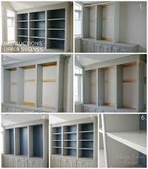 diy built in office cabinet u2014 classy glam living