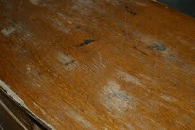 how to fix water damage on wood table how to remove white water ring from wood table table designs
