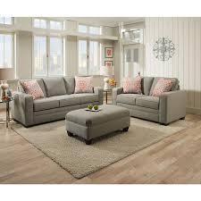 Queen Sleeper Sofa by Simmons Upholstery Miramar Ash Queen Sleeper Sofa Free Shipping