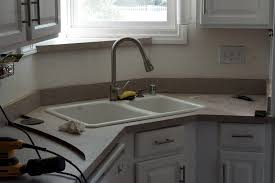 Bathroom Sinks And Countertops - lovely imperfection diy concrete countertops over laminate