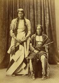bald bear and cut foot cheyenne indians 1871 73 native