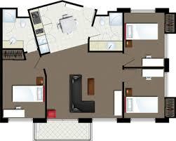 three bedroom apartments floor plans bond university student accommodation 3 bedroom varsity towers