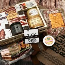 bacon gift basket bacon bacon gift baskets royal bacon society