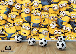 Football Wall Murals by Wall Murals Minions