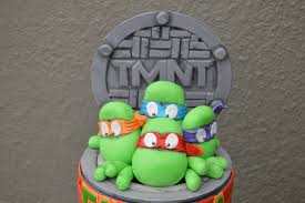 tmnt cake topper mutant turtles tmnt fondant cake topper pictorial